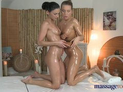 Massage Rooms Petite perfect bodied lesbians