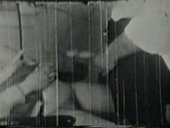 Hot vintage girl fucking him well