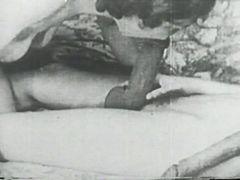 Vintage strapon lesbian action