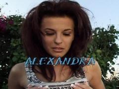Alexandra Nice - Wet Cotton Panties 7