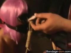 Find her on BONDAGE-DOM.COM - Bizans First Bi Experience
