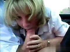 Met her on MATURE-FUCKS.COM - Scots MILF sucks dick during lunch break