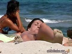 Nudist Beach Teen Girls Voyeur Serie 54