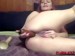 Anal addicted JOI mature horny lady