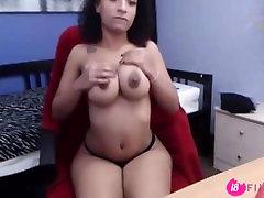 Beautiful ebony girl next door MiaRae with flawless chest - 18flirtcom