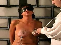 Amazing bondage sex as wild diva gets fucked hard