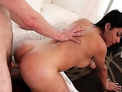Dude cummed on shemale ass hole