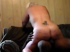 Creepy BBW getting moaning fuck with BBC