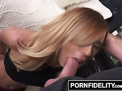 PORNFIDELITY Demi Lopez Shows Off Her Panties For Creampie