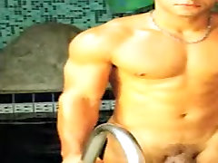 Incredible male in exotic fetish, bdsm gay adult movie