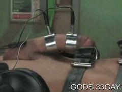 Leather bondage and torture gay BDSM