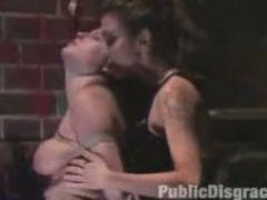 Public BDSM Hardcore Anal Bondage Sex