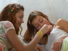 lesbians love 69 and big vibrators