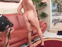 Nasty mature spreads her pink fuck holes