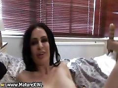 Horny mature housewife with big part3
