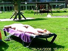 Nudist club - sauna