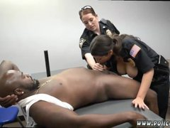 Catwoman threesome and milf gag Milf Cops