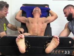 Hot naked gay men with sexy feet Jock Tommy Tickle d