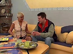 German mature with young cock