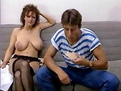 Slim girl with big boobs vintage movie