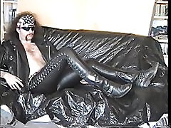 Skintight Rubber, Leather, and Boots