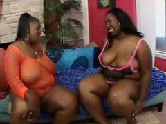 Two Sexy BBW Lesbians