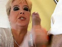 Doctor fucks mature BBW