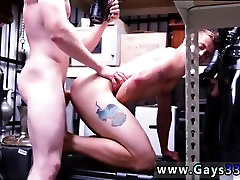 Gay guy blowjob videos Dungeon sir with a gimp