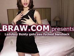 Ladyboy Benty Bareback Anal