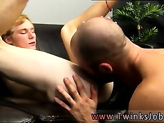Wet male rimming gay Big daddy David Chase heads back to his