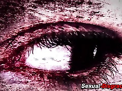 Hot bdsm slave facialized