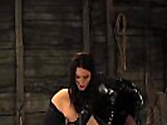 Mistress Driving Wet Enslaved Girls Pussy To Orgasm