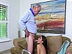 Old man girl videos mp4 and very small and very old sex Popping Pills!