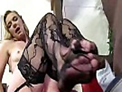 Black Meat White Feet - Interracial Foot Fetish XXX Video 25