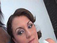 Zebra Girls - Interracial Anal Strapon Sex Video With Strapon Toy 23