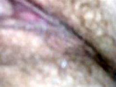 Fingering my sleeping wife&039s wet cunt