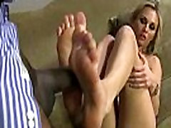 Black Meat White Feet - Interracial Foot Fetish Porn Video 18