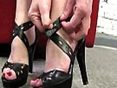 Teen Slut Pleases A Big Black Cock With Her Feet 31