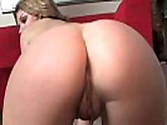 White Skinny Lesbo Fucked Anally By Her Black Rommie With Thick Strapon Dildo 16