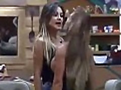 Brazillian Amazons Collide Breasts to Breasts