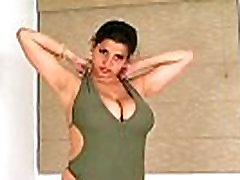 Curvy Chloe Veria masturbates and gropes tits - Masturbation Porn