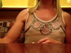 See through top in restaurant 2