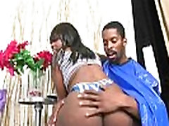Sexy Black Babe With Big Butt Get Black Cunt Nailed Hard 10