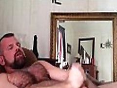 hairy daddy jerk off