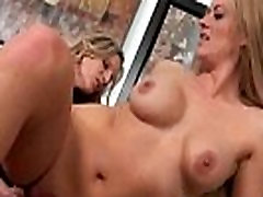 Brianna Ray &amp Holly Heart Naughty Sexy Milf Busy In Lesbian Sex On Tape video-07