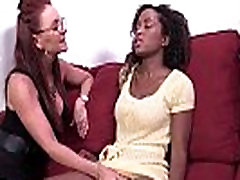 Ebony Lesbian Slut Fuck Her White Friend Anally With Thick Strapon Toy 13