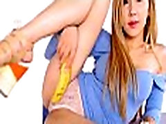 Asian Babe Toying Herself With A Banana - More asian.21ocam.com