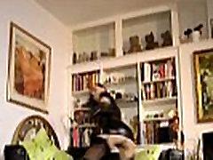British leather milf doggystyled before cum