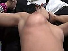 Interracial Blowbang - Hardcore Black Gangbang and Bukkake Sex Party 23