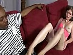 Black Meat WHite Feet - Interracial Foot Fetish Sex Video 19